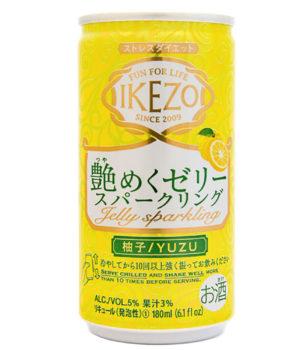 Ozeki Ikezo Sparkling Jelly Yuzu Sake