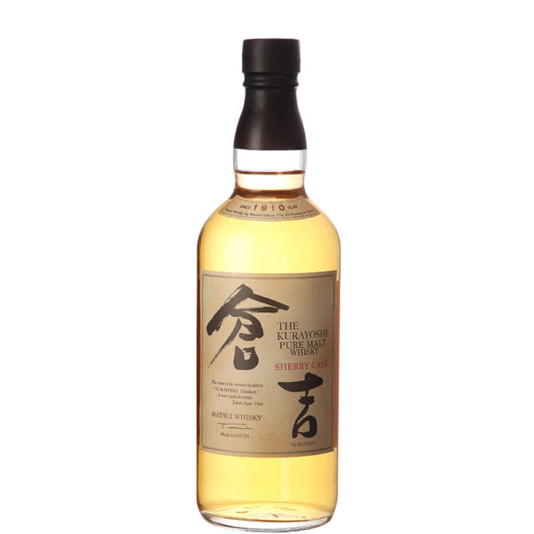 The Kurayoshi - Pure Malt Sherry cask 70 cl with box